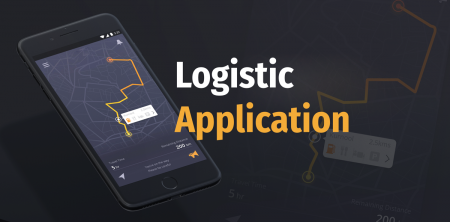logistics mobile application development