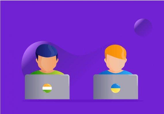 IT Outsourcing Destinations: India vs. Ukraine