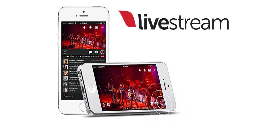 Livestream app to video stream