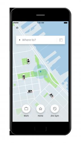 Development  app like Uber