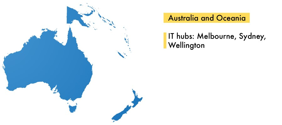 IT Outsourcing to Australia and Oceania