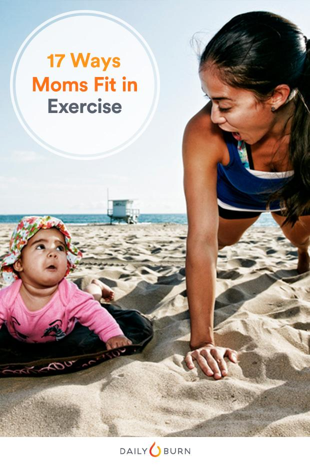 Fitness App for Busy Moms